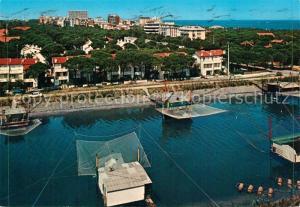 AK / Ansichtskarte Lido_degli_Estensi Scorcio panoramico e capanni da pesca Lido_Degli_Estensi