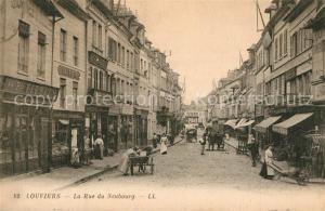 AK / Ansichtskarte Louviers_Eure La Rue du Neubourg Louviers Eure
