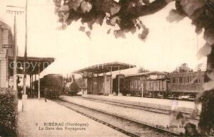 AK / Ansichtskarte Riberac La Gare des Voyageurs Riberac