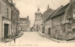 AK / Ansichtskarte Belleme Rue de la Croix Blanche Belleme