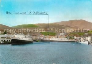 AK / Ansichtskarte Port Vendres Le Port et bateaux a quai Port Vendres