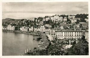 AK / Ansichtskarte Lugano_TI Ansicht mit Luganersee Lugano_TI