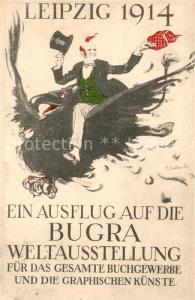 AK / Ansichtskarte Buchdruck Weltausstellung Bugra Leipzig