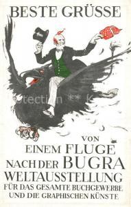 AK / Ansichtskarte Buchdruck Bugra Weltausstellung Leipzig