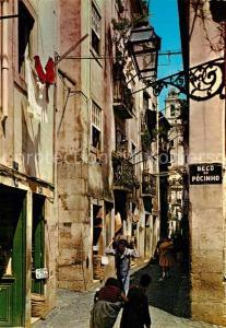 AK / Ansichtskarte Lisboa Alfama Lisboa antiga Altstadt Lisboa