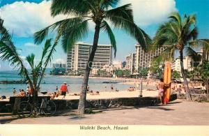AK / Ansichtskarte Hawaii_US State Waikiki Beach