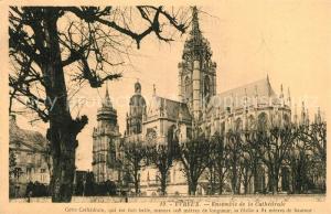AK / Ansichtskarte Evreux Cathedrale Evreux