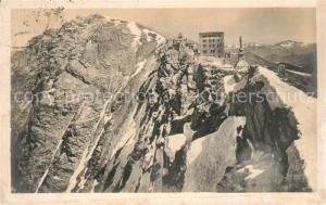 AK / Ansichtskarte Monte_Generoso Gebirgspanorama Berghotel Denkmal Alpen Monte Generoso