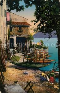 AK / Ansichtskarte Gandria_Lago_di_Lugano Dorfidyll Gandria_Lago_di_Lugano