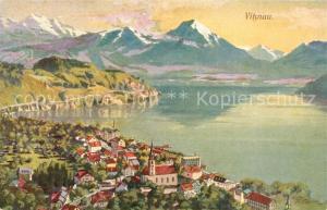 AK / Ansichtskarte Vitznau Panorama Vitznau