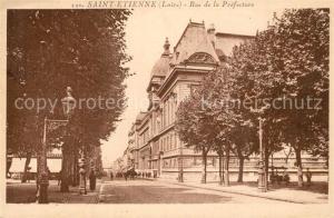 AK / Ansichtskarte Saint Etienne_Loire Rue de la Prefecture Saint Etienne Loire