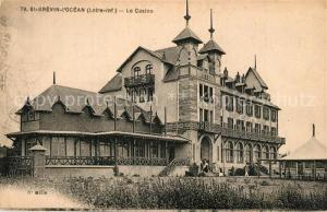 AK / Ansichtskarte Saint Brevin l_Ocean_Loire_Atlantique Le Casino Saint Brevin l_Ocean