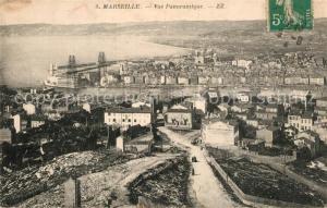 AK / Ansichtskarte Marseille_Bouches du Rhone Vue panoramique Marseille