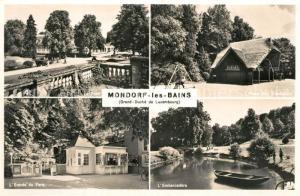 AK / Ansichtskarte Mondorf les Bains Le Parc Entree du Parc Embarcadere Place jeux d enfants Mondorf les Bains