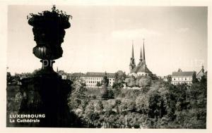 AK / Ansichtskarte Luxembourg_Luxemburg La Cathedrale Luxembourg Luxemburg