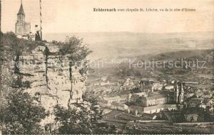 AK / Ansichtskarte Echternach avec chapelle St Liboire vu de la cote d Ernzen Echternach