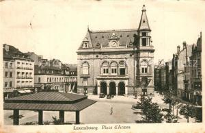 AK / Ansichtskarte Luxembourg_Luxemburg Place d Armes Luxembourg Luxemburg