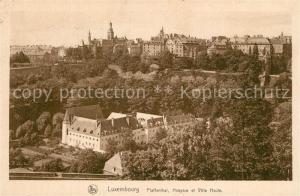 AK / Ansichtskarte Luxembourg_Luxemburg Pfaffenthal Hospice et Ville Haute Luxembourg Luxemburg