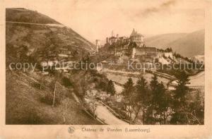 AK / Ansichtskarte Vianden Chateau de Vianden Vianden