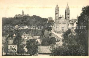 AK / Ansichtskarte Clervaux Abbaye St Maurice Clervaux