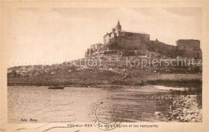 AK / Ansichtskarte Fos sur Mer La vieille eglise et les remparts Fos sur Mer