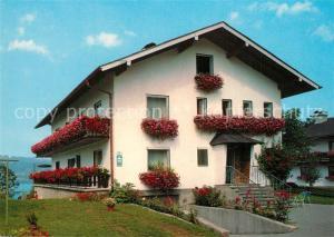 AK / Ansichtskarte Steinbach_Attersee Gaestehaus Haus Elsa Schiemer Steinbach Attersee