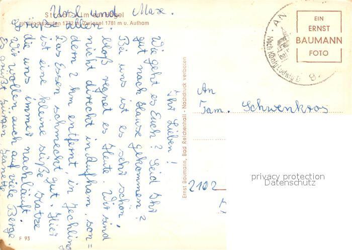 AK / Ansichtskarte Strobl Strobl Alm am Hoegel mit Hochstaufen Zwiesel Aufham Chiemgauer Alpen Strobl 1