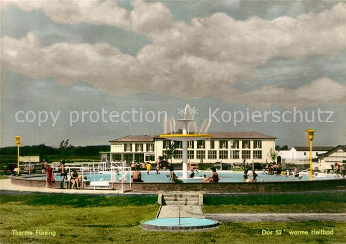 AK / Ansichtskarte Bad_Fuessing Therme Thermalbad Heilbad Bad_Fuessing 0