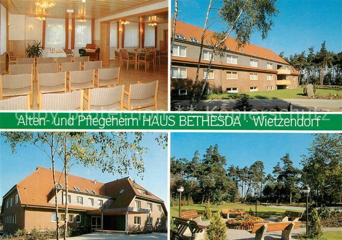 AK / Ansichtskarte Wietzendorf Alten  und Pflegeheim Haus Bethesda Park Lueneburger Heide Wietzendorf 0