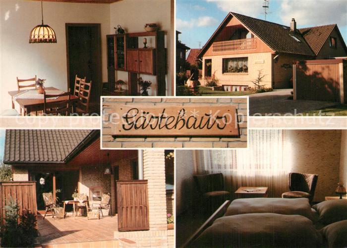 AK / Ansichtskarte Soltau Gaestehaus Engelke Terrasse Fremdenzimmer Soltau 0