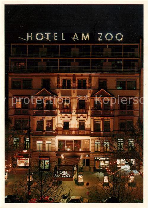 AK / Ansichtskarte Berlin Hotel am Zoo Nachtaufnahme Berlin 0
