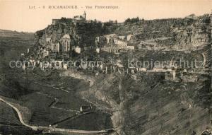 AK / Ansichtskarte Rocamadour Vue panoramique Rocamadour