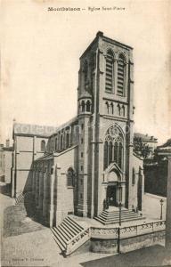 AK / Ansichtskarte Montbrison_Loire Eglise Saint Pierre Montbrison Loire