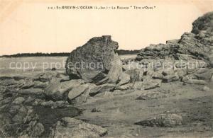AK / Ansichtskarte Saint Brevin l_Ocean_Loire_Atlantique Le Rocher Tete d Ours Saint Brevin l_Ocean