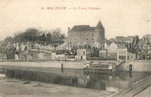 AK / Ansichtskarte Mayenne Le Vieux Chateau Mayenne