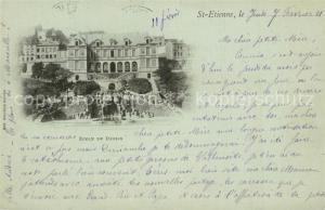 AK / Ansichtskarte Saint Etienne_Loire Ecole de Dessin Saint Etienne Loire