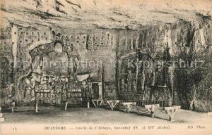 AK / Ansichtskarte Brantome Grotte de l'Abbaye bas relief Brantome
