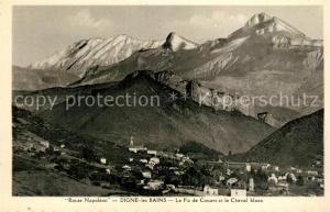 AK / Ansichtskarte Digne les Bains Le Pic de Couars et le Cheval blanc Digne les Bains