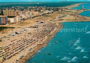 AK / Ansichtskarte Ravenna_Italia Panorama e spiaggia veduta aerea Ravenna Italia