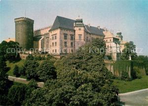 AK / Ansichtskarte Krakow_Krakau Zamek Krolewski na Wawelu Schloss Krakow Krakau