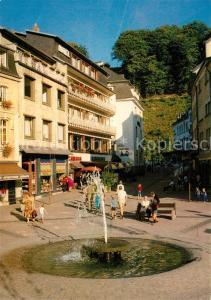 AK / Ansichtskarte Clervaux Zone pietonne Grand Duche de Luxembourg Clervaux