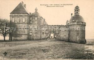 AK / Ansichtskarte Dordogne Chateau de Hautefort Dordogne
