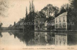 AK / Ansichtskarte Olivet_Loiret Restaurant Paul Foret Olivet Loiret