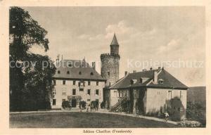 AK / Ansichtskarte Chatillon sur Loire Schloss Chatillon sur Loire