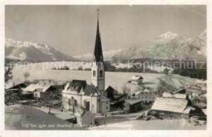 AK / Ansichtskarte Igls_Tirol Gasthof Traube Martinswand Igls_Tirol