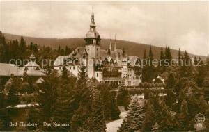 AK / Ansichtskarte Bad_Flinsberg_Swieradow_Zdroj Kurhaus Bad_Flinsberg
