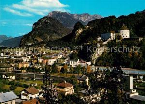 AK / Ansichtskarte Kufstein_Tirol Festung mit Zahmen Kaiser Kufstein_Tirol