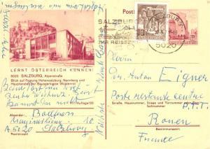 AK / Ansichtskarte Salzburg_Oesterreich Festung Hohensalzburg Salzburg_Oesterreich