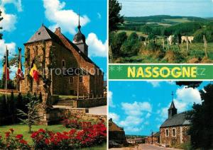 AK / Ansichtskarte Nassogne  Nassogne