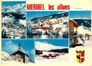 AK / Ansichtskarte Meribel Les Allues Meribel